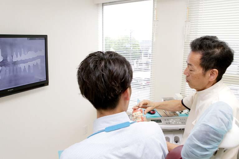 前歯を失った時の治療方法